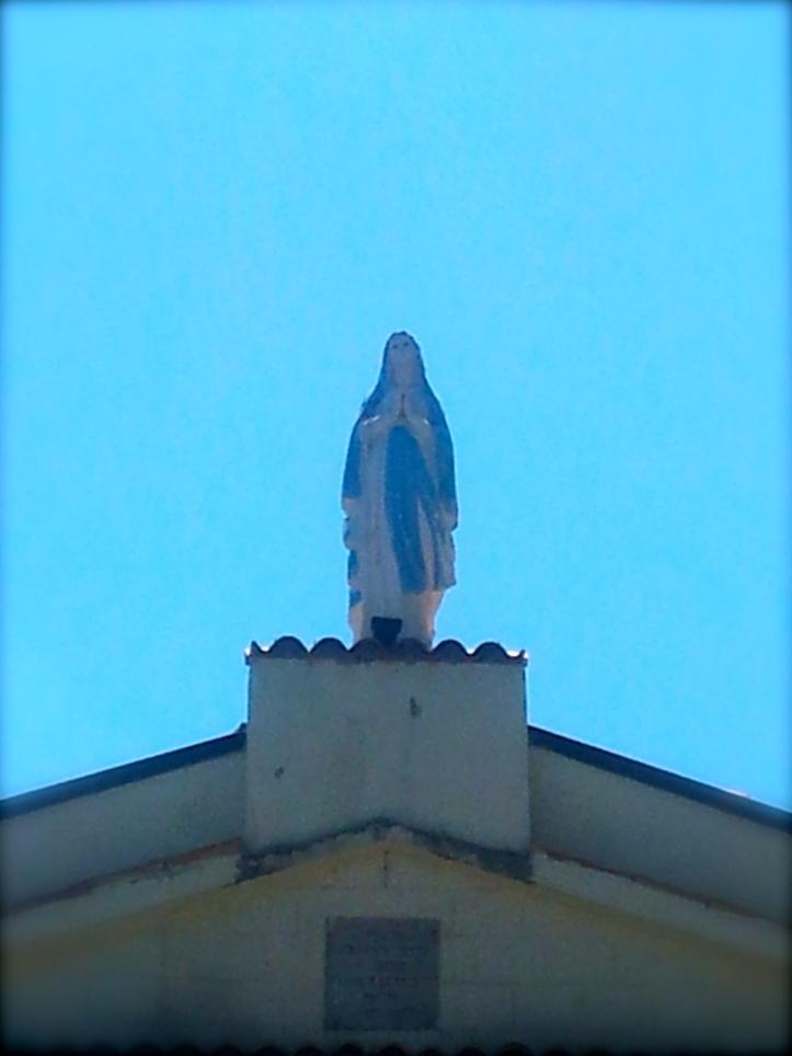 Blauwe lucht...