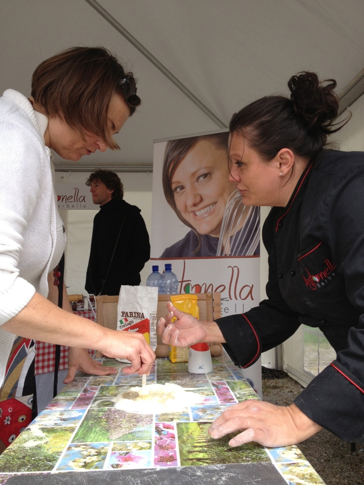 Buiten eten in Almere (4) - koken met Antonella