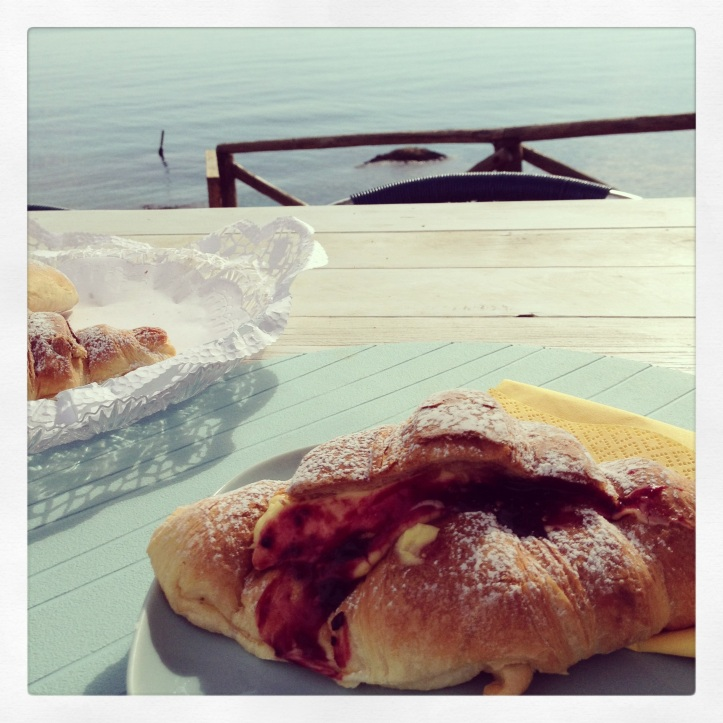 Ontbijt bij Bagni Vittoria
