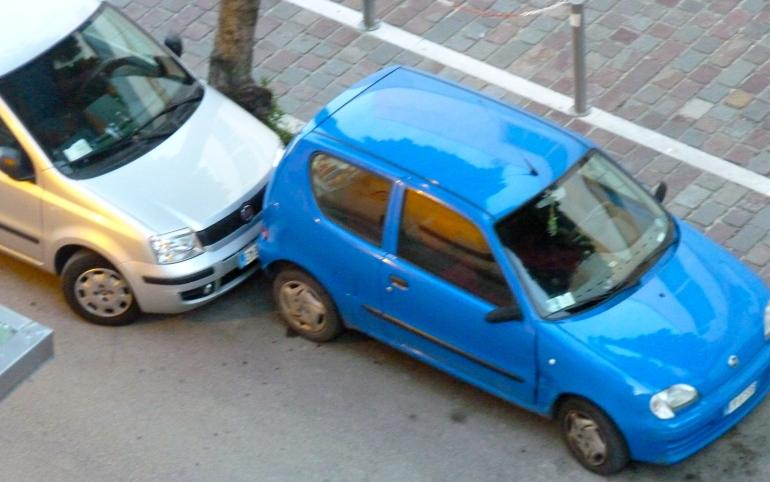 Parkeren Italian Style