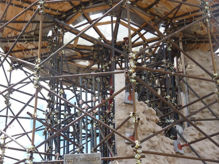 Stutwerk van de toren