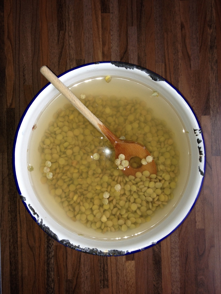 Linzen met paprika & feta