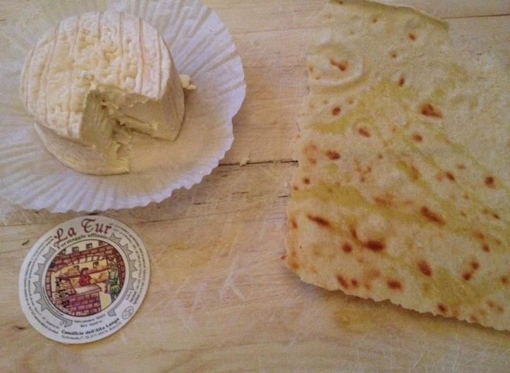 Kaas met brood