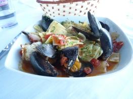 San Vito Chietino - mosselen met krab