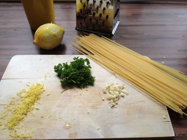 Pasta met citroen