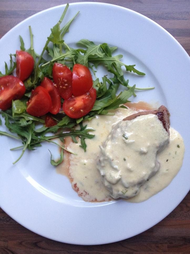 Bistecca gorgonzola