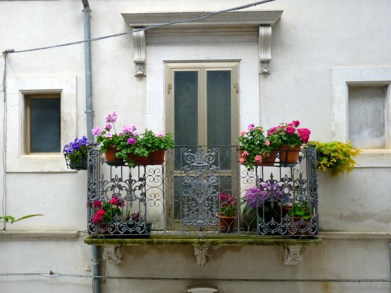 Italian style: bloemen