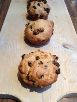 Barm brack scones