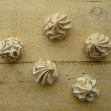 merengues en nutella