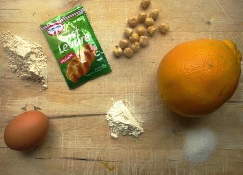 Cantuccini met kastanjemeel en hazelnoten