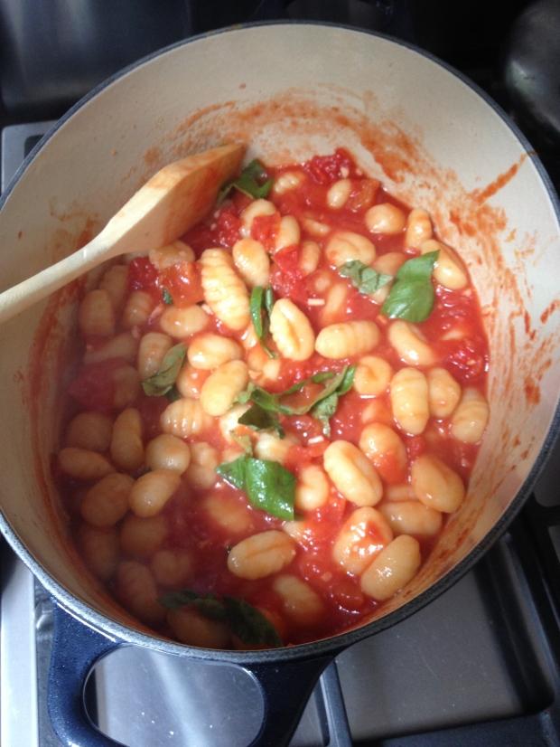 gnocchi in tomatensaus